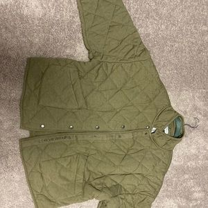 Peloton quilted jacket perfect for fall!